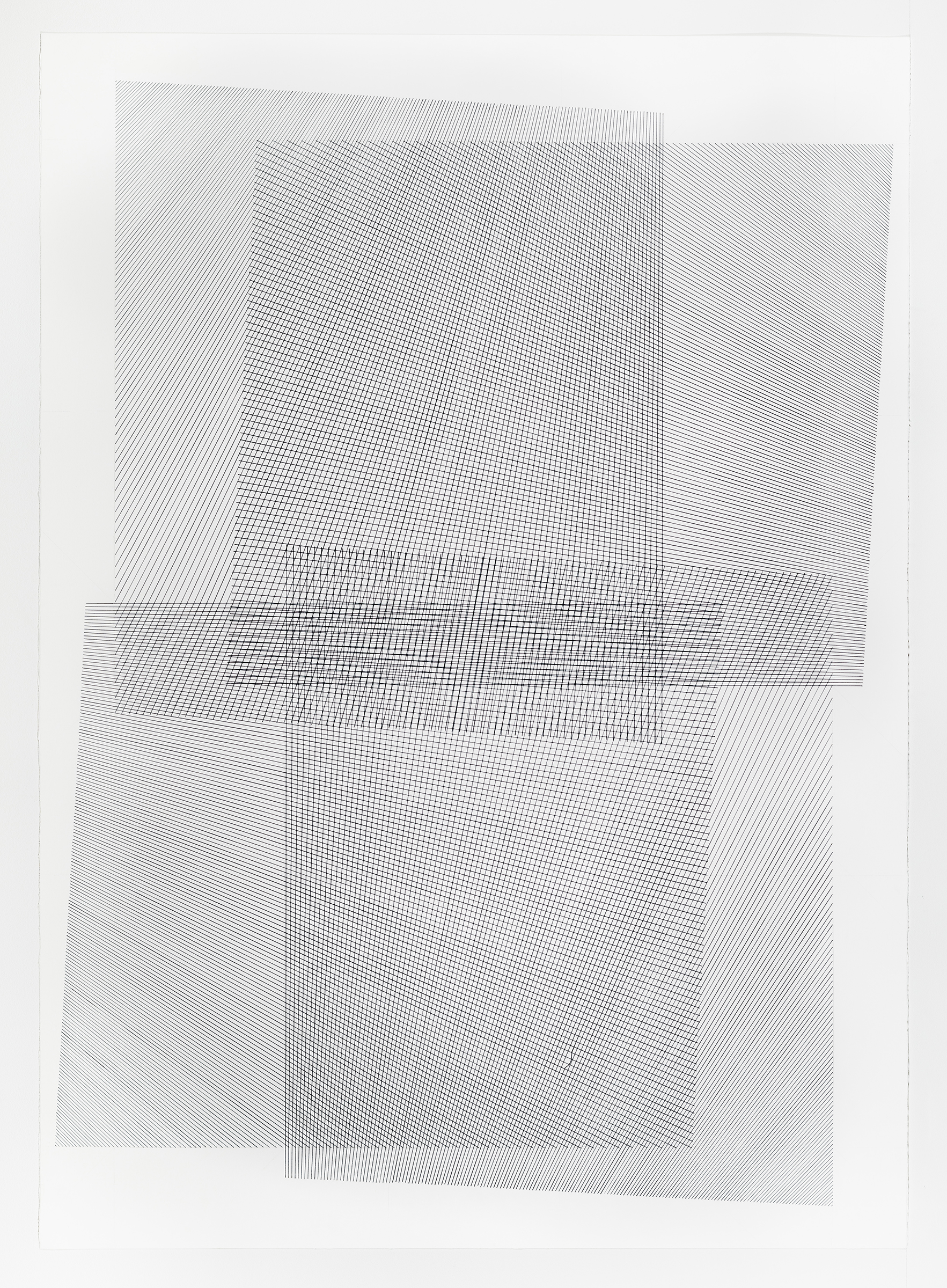 1 of 5; additive series, grey, 40 x 30 inches, 2016